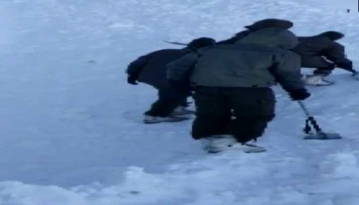 Avalanche in Ladakh; 4 bodies recovered, 6 still missing, rescue ops underway4