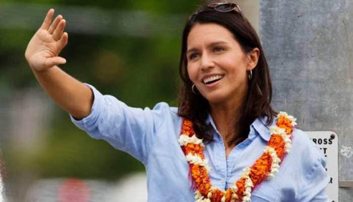 Democratic Presidential candidate Tulsi Gabbard apologizes for her past statement on LGBTQ