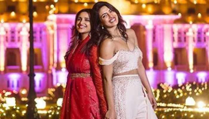 Parineeti Chopra shares unseen pic from Priyanka Chopra's wedding and it shows their sibling love!