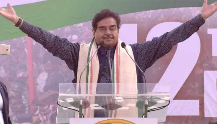 Answerable to people of the country, not BJP: Shatrughan Sinha at mega Opposition rally