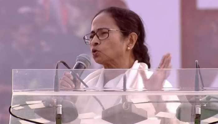 Narendra Modi government past its expiry date, says West Bengal CM Mamata Banerjee at Kolkata rally