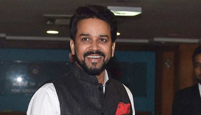 BJP MP Anurag Thakur honoured with Sansad Ratna Award