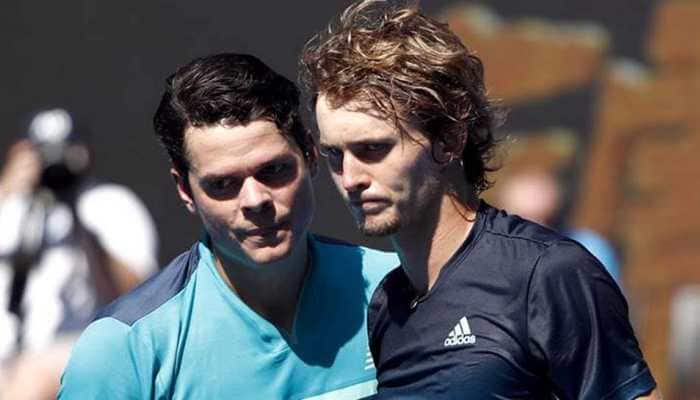 Australian Open: Angry Alexander Zverev bows out to clinical Canadian Milos Raonic