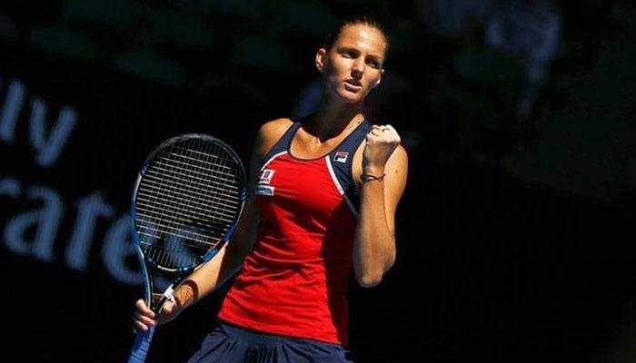 Karolina Pliskova pounds Garbine Muguruza to reach Australian Open quarters
