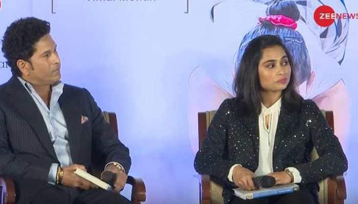 Sachin Tendulkar launches book on Dipa Karmakar, calls her inspiration