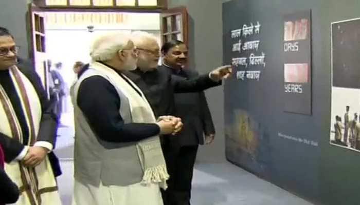 PM Modi inaugurates Bose museum at Red Fort on Netaji's 122nd birth anniversary