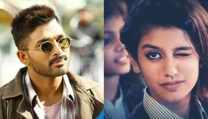 Allu Arjun recreates Priya Prakash Varrier's 'wink' act, video goes viral—Watch