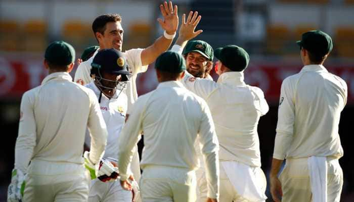Bowlers put Australia in command in Brisbane Test against Sri Lanka