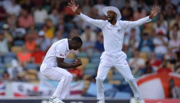 5 wickets for 17 runs: Kemar Roach's heroics help Windies bowl out England for 77