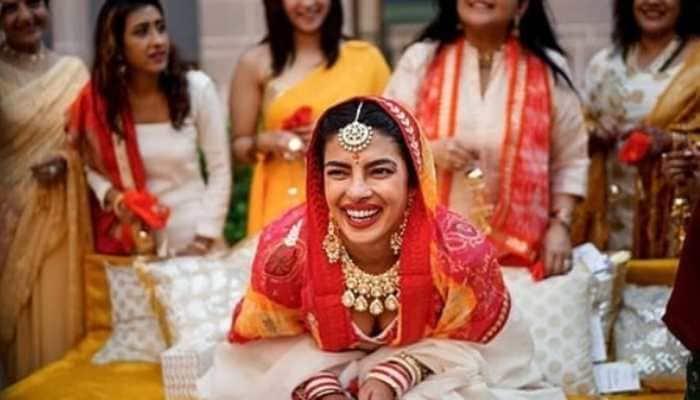 Priyanka Chopra-Nick Jonas's unseen Haldi ceremony pics are full of love, life and laughter!