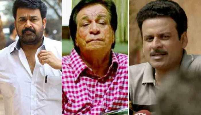 Mohanlal to be honoured with Padma Bhushan, Padma Shri for Manoj Bajpayee, Prabhu Deva, late Kader Khan