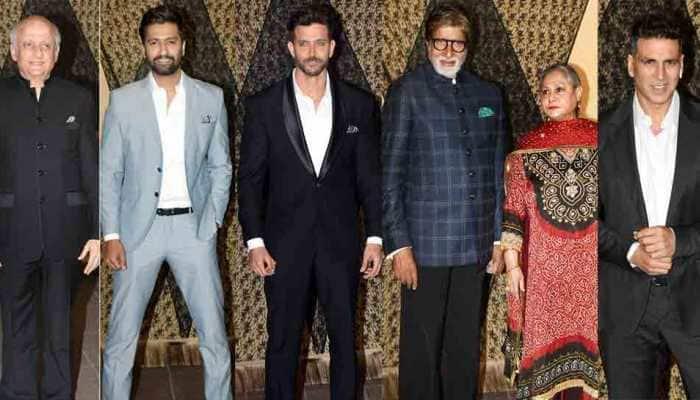 Aamir Khan, Hrithik Roshan, Akshay Kumar attend Mukesh Bhatt's daughter's wedding reception — Pics