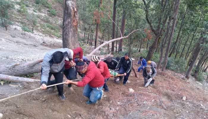 8 killed as van falls into gorge near Pithoragarh road in Uttarakhand's Champawat