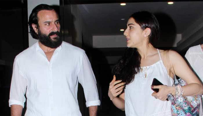 This childhood picture of Sara Ali Khan with her dad Saif Ali Khan is the cutest thing on internet today!