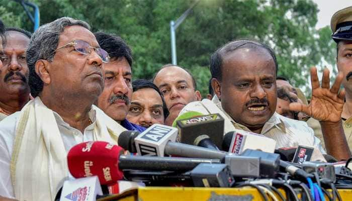 Congress MLAs say Siddaramaiah their leader, Kumaraswamy hits back