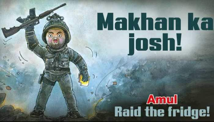 Amul's tribute to Vicky Kaushal starrer Uri: The Surgical Strike is too adorable for words