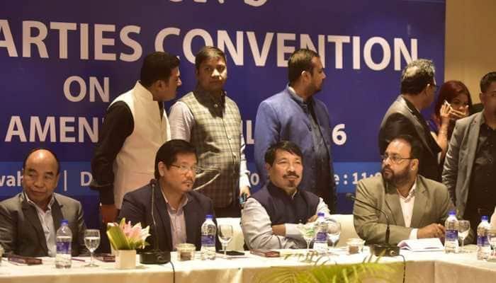 JDU, 10 Northeast political parties join hands to protest against citizenship bill