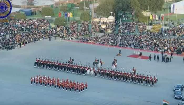 Marching Down Rajpath: Beating Retreat Ceremony held in Delhi