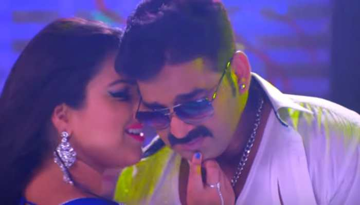 Pawan Singh-Aamrapali Dubey's sizzling dance moves in 'Jawani Ba Khata' song sets YouTube on fire—Watch