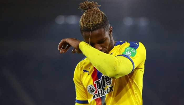 Crystal Palace forward Wilfried Zaha apologises for red card against Southampton