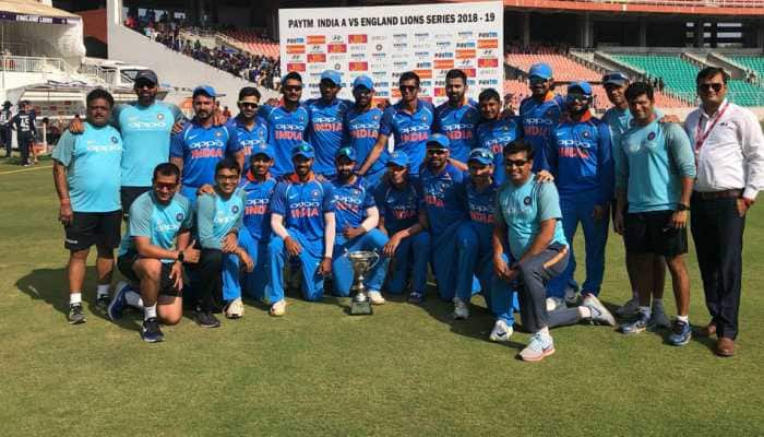 England Lions pull off consolation win against India A