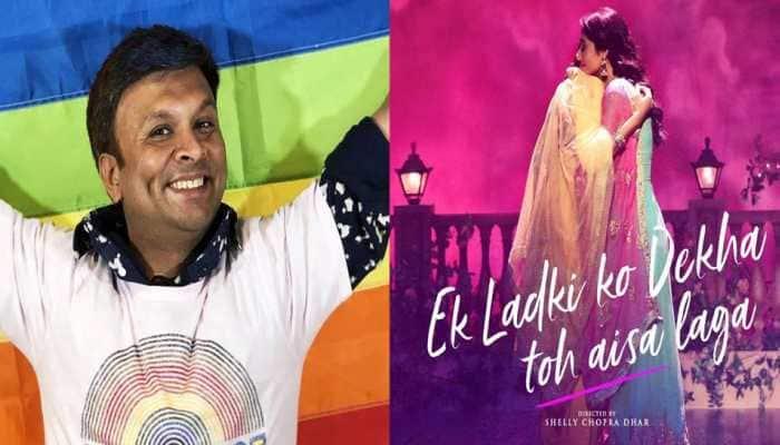 LGBT activist Harish Iyer gives a thumbs up to Sonam Kapoor's Ek Ladki Ko Dekha Toh Aisa Laga