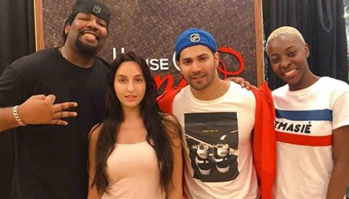 Nora Fatehi, Varun Dhawan prep for ABCD 3—Pic proof