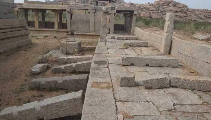 Miscreants allegedly damage pillar in UNESCO world heritage site Hampi; Karnataka Police initiate probe