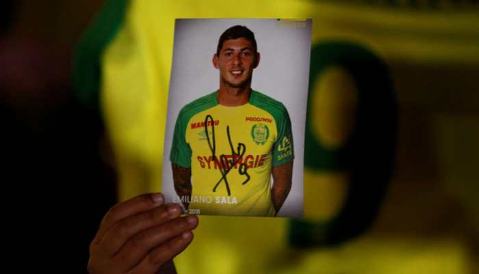 Wreckage of plane carrying missing footballer Emiliano Sala found