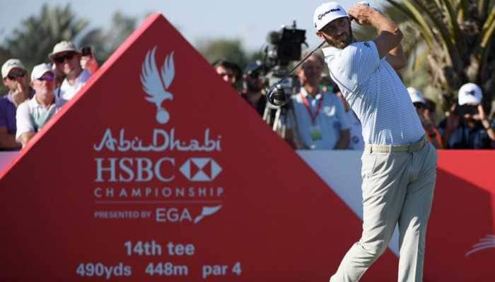 Dustin Johnson holds off Li Haotong to win Saudi International title
