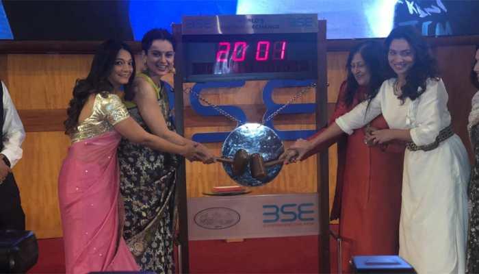 Zee Entertainment organises special screening of Manikarnika at the Bombay Stock Exchange