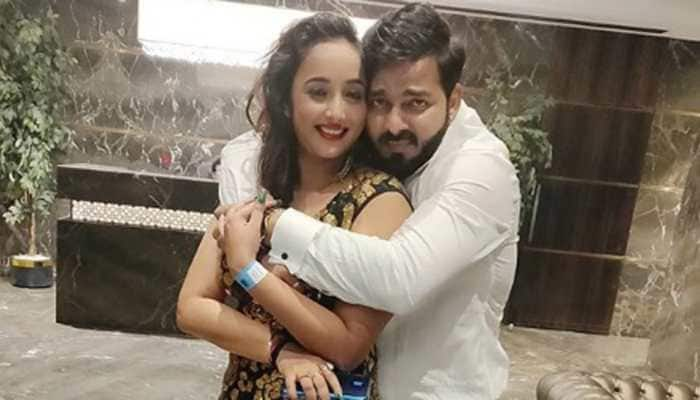 We bet you can't recognise Pawan Singh in this pic with Rani Chatterjee
