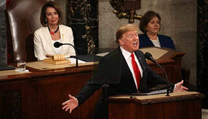 US President Donald Trump delivers State of the Union