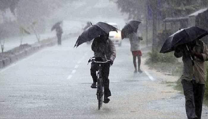 Uttar Pradesh woke up to heavy rains on Thursday morning