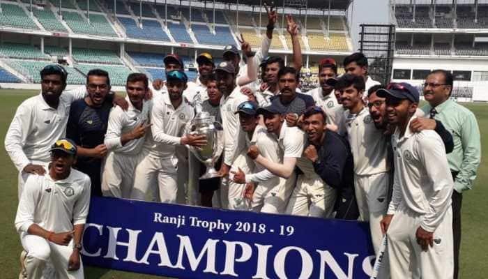 Vidarbha claim 2nd successive Ranji title, beat Saurashtra in final by 78 runs