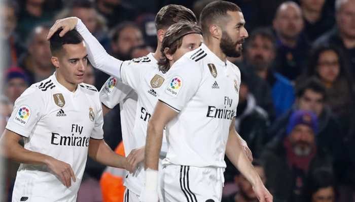 Santiago Solari's Real Madrid show clear improvement in Clasico 1-1 draw