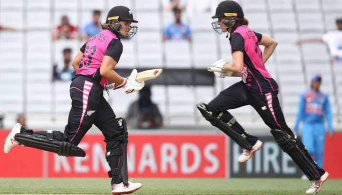 2nd T20I: New Zealand women beat India by 4 wickets to lead series 2-0