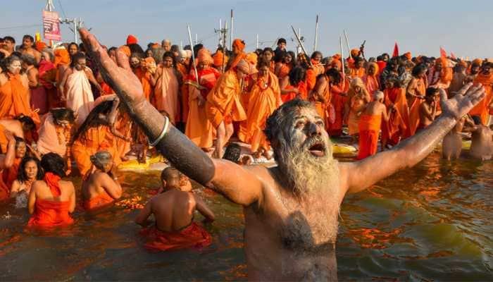 Two crore expected to take holy dip on Kumbh's third 'shahi snaan' on Sunday