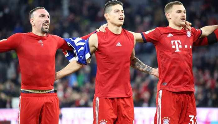 Bundesliga: Bayern Munich beat Schalke 3-1 to cut Borussia Dortmund lead
