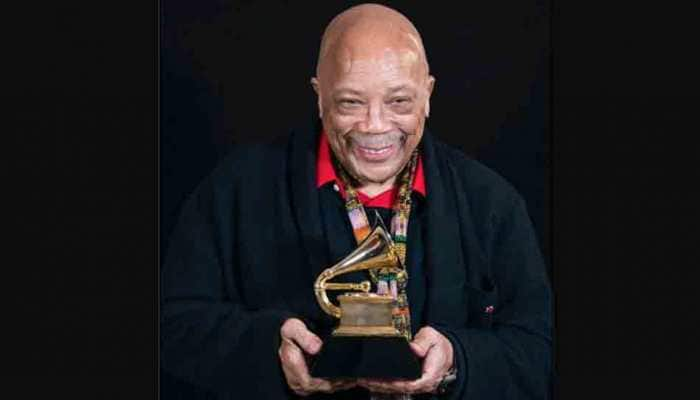 Quincy Jones makes history with 28th Grammy Awards win