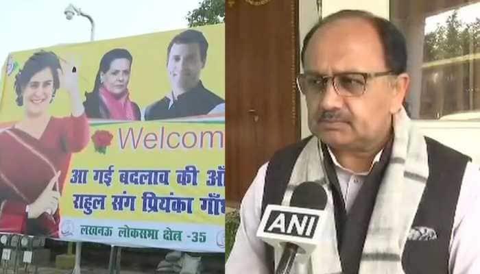 It's a 'chor show': BJP on Priyanka Gandhi Vadra's roadshow in Lucknow