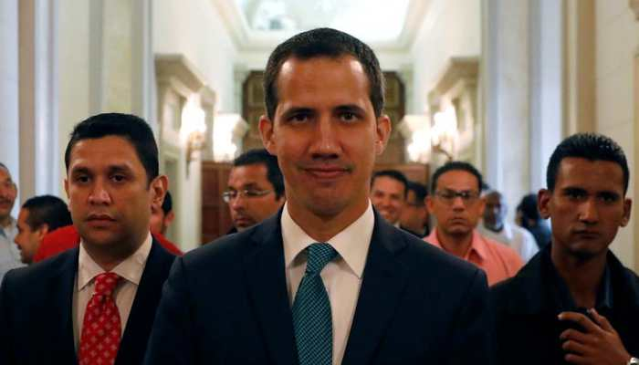 Venezuela's self-proclaimed acting president seeks support for fresh elections