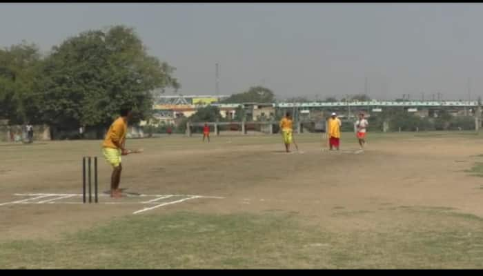 A cricket tournament in Varanasi, with a Sanskrit touch
