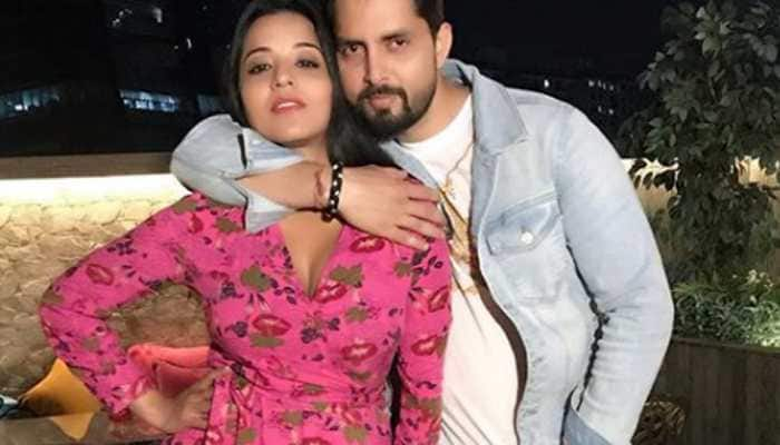 Monalisa shares love-filled pics with husband Vikrant Singh Rajpoot on Valentine's Day