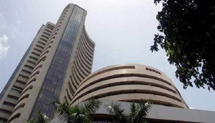 Sensex falls over 100 points, Nifty at 10,700