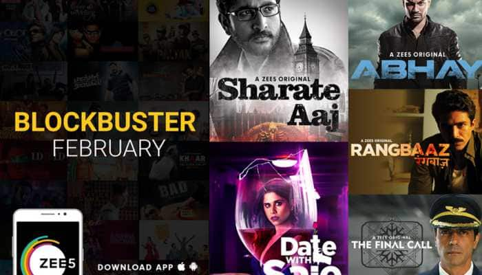 ZEE5 announces Blockbuster February; unveils star-studded Originals