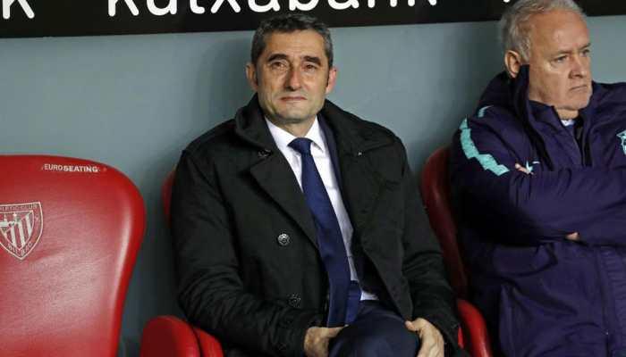 Barcelona extend coach Ernesto Valverde's contract until 2020