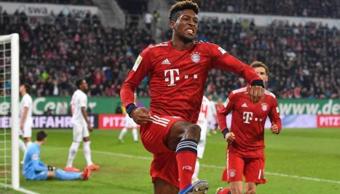 Bayern Munich's Kingsley Coman fit for Liverpool clash after injury scare