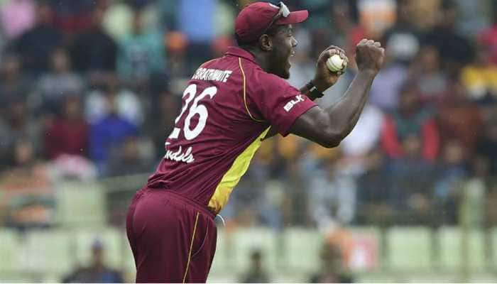 Windies vs England: John Campbell, Carlos Brathwaite, Sheldon Cottrell replace injured Evin Lewis, Rovman Powell, Keemo Paul