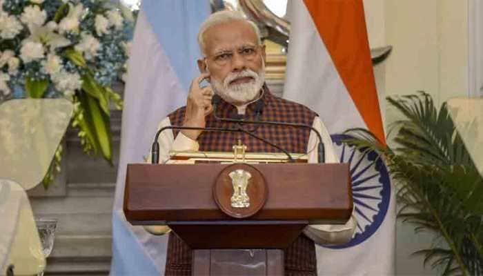 PM Narendra Modi to visit his Lok Sabha constituenct Varanasi on Tuesda
